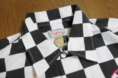 画像3: CUSHMAN(クッシュマン) CHECKER FLAG SHIRTS (CHEVRON) (3)
