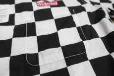 画像4: CUSHMAN(クッシュマン) CHECKER FLAG SHIRTS (CHEVRON) (4)