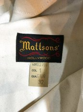 画像7: MATTSONS`(マットソンズ) BORDER BOY SCOUT PANTS (7)