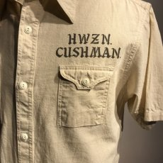 画像3: CUSHMAN(クッシュマン) CHAMBRAY WORK SHIRTS(CUSHMAN×HWZN) (3)