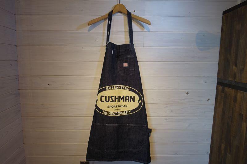 画像1: CUSHMAN(クッシュマン) 10オンス デニムエンジニアエプロン (CUSHMAN) (1)