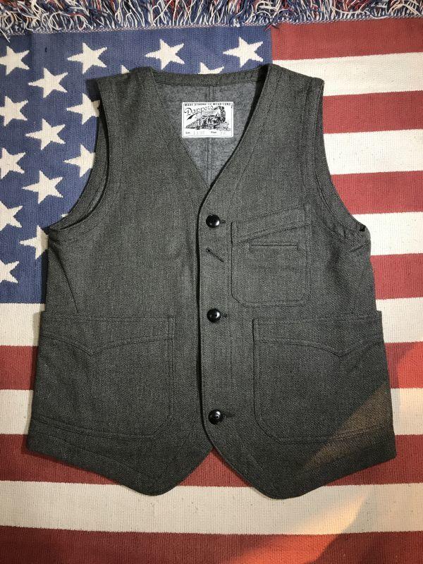 画像1: Dapper`s(ダッパーズ) Classical Two Panel Work Vest (1)