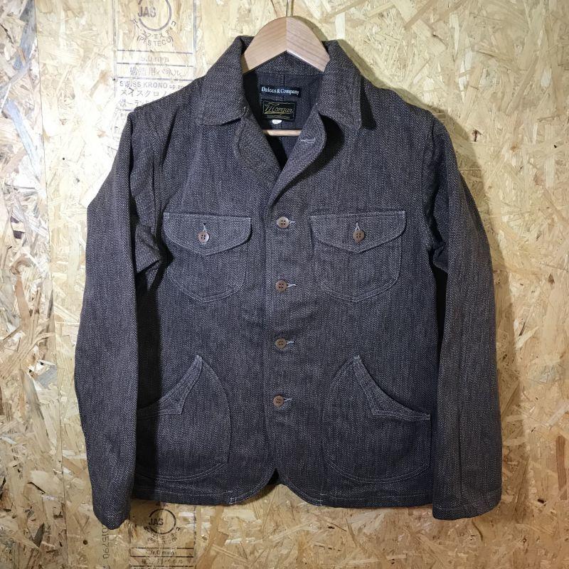 画像1: DALEE'S&CO(ダリーズ&コー) TICK  10s Spring Sack Jacket (1)