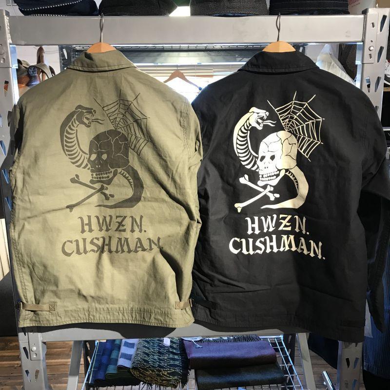 画像1: CUSHMAN(クッシュマン) A-2 DECK JACKET (CUSHMAN×HWZN) (1)