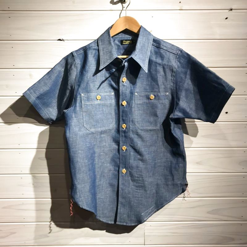 画像1: Dapper`s(ダッパーズ) Standard Short Sleeve Shirts (1)