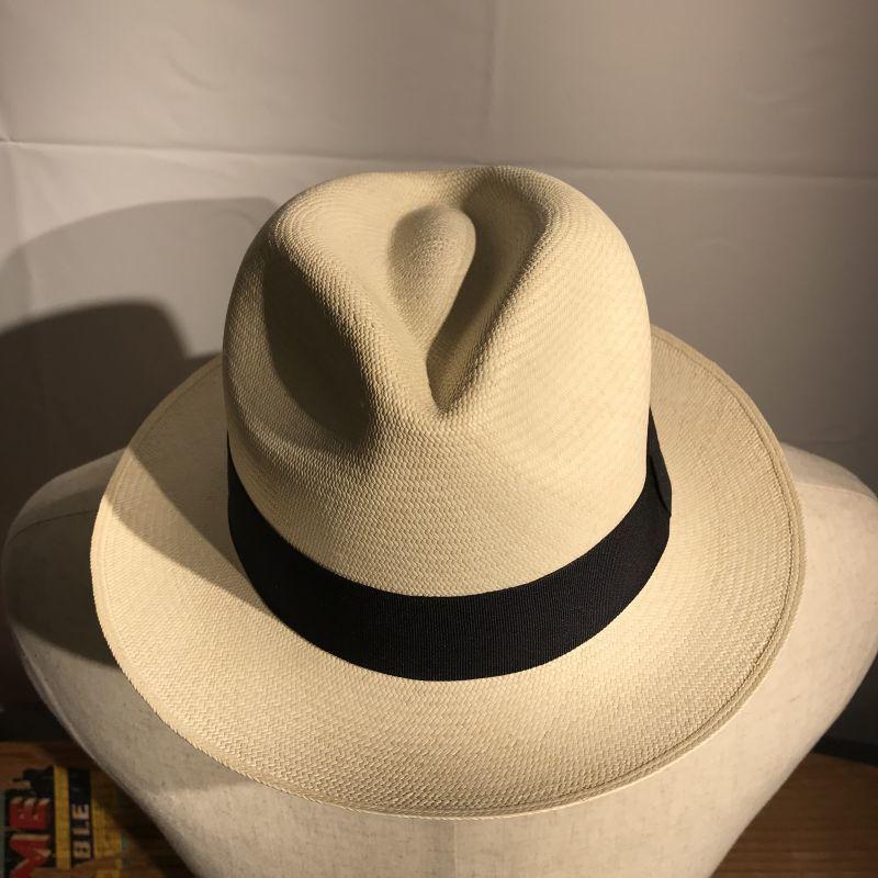 画像1: Dapper`s(ダッパーズ) EL SOMBRERO W-Name Panama Hat  (1)