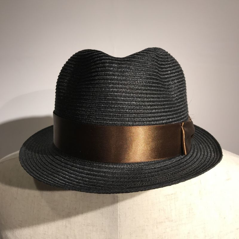 画像1: Dapper`s(ダッパーズ) LINEN FEDRA HAT (1)