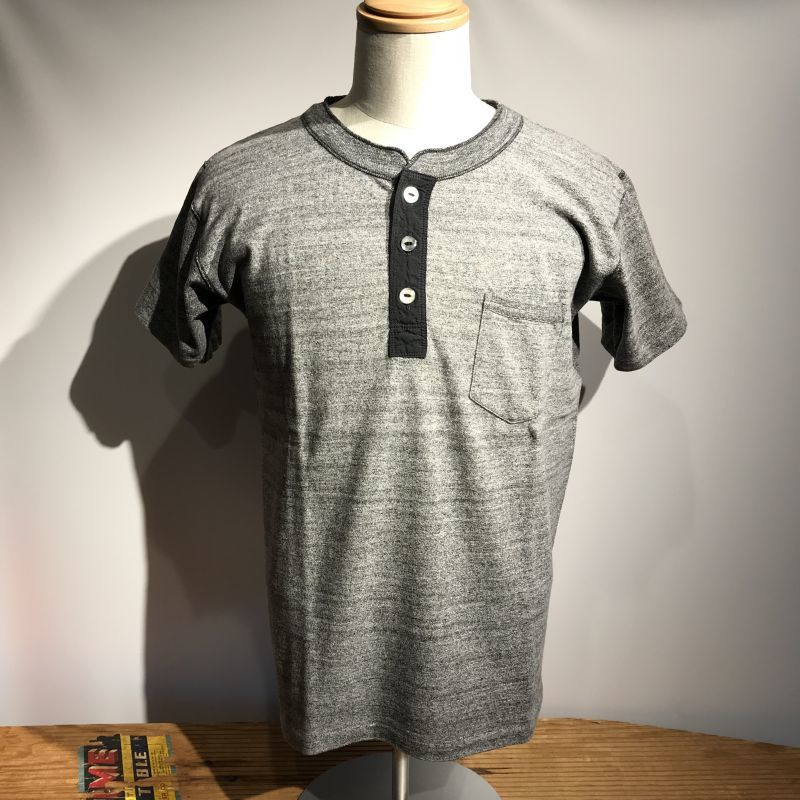 画像1: Dapper`s(ダッパーズ) Standard Henley Tee Special Sewing Model (1)