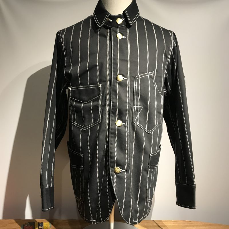 画像1: Dapper`s(ダッパーズ) Classical Railroader Coverall Jacket (1)