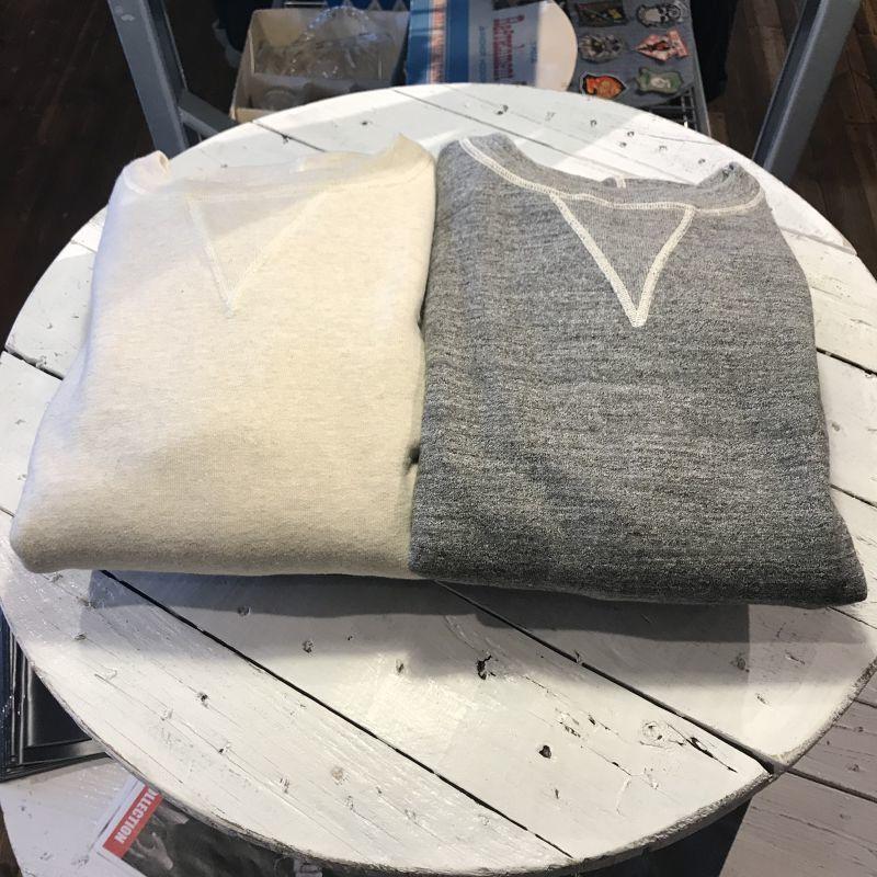画像1: Dapper`s(ダッパーズ)Classical Double V Sweat Special Sewing Model (1)