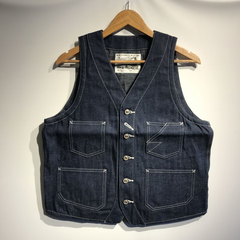 画像1: Dapper`s(ダッパーズ) Standard Railroader Work Vest (1)