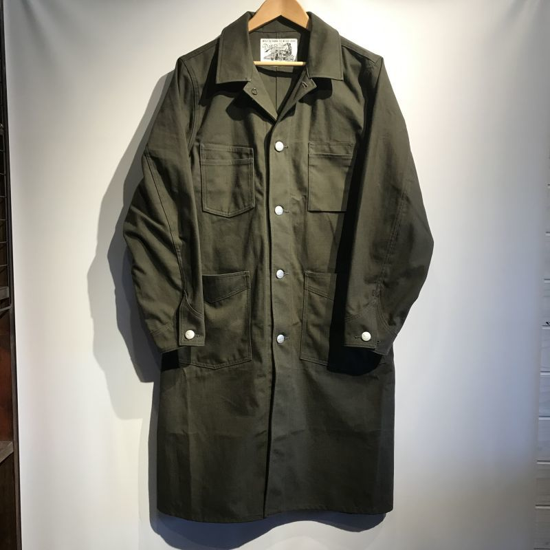 画像1: Dapper`s(ダッパーズ) Classical Standard Engineers Coat (1)