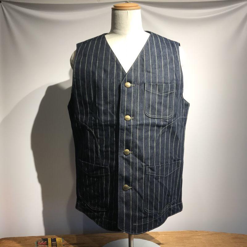 画像1: DALEE'S&CO(ダリーズ&コー) MAXWELL 20s Shop Vest  (1)