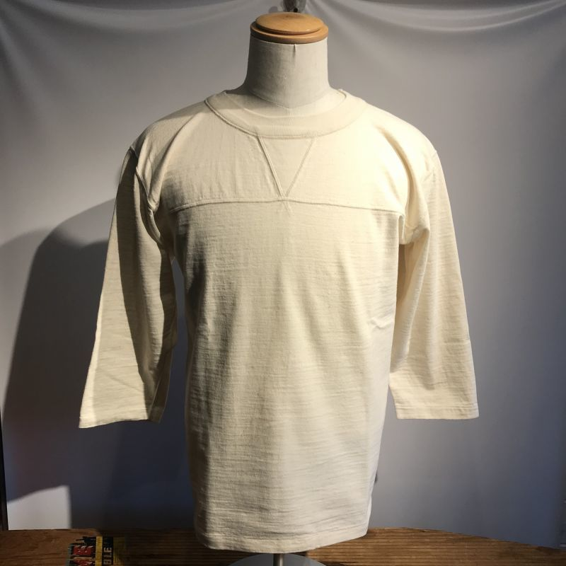 画像1: Dapper`s(ダッパーズ) Double V Football Tee Special Sewing Model (1)