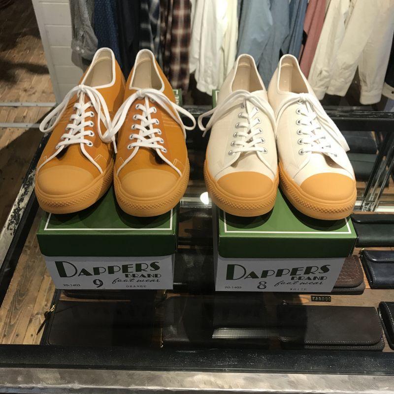 画像1: Dapper`s(ダッパーズ) Dappers Brand Canvas Sneakers Type Low Cut (1)